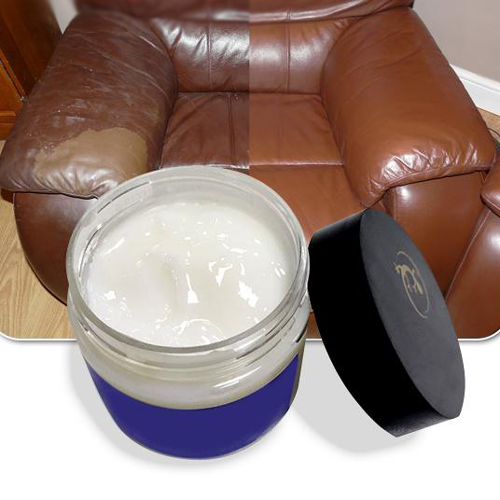 Leather Repair Cream Vinyl Repair Filler Compound Cream for Leather Restoration Cracks Burns Car Seat Sofa Holes
