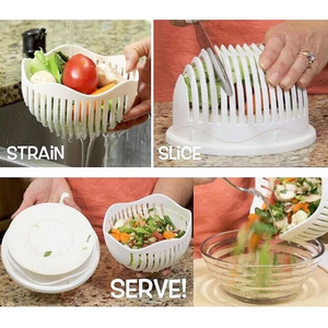 Easy Salad Cutter Bowl