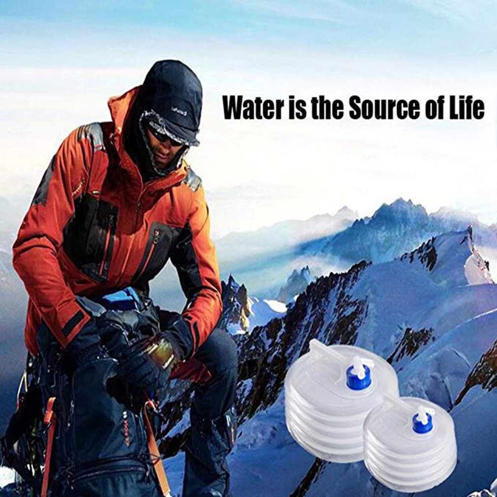 Collapsible Water Carrier Container Camping Outdoor Environmental Protection
