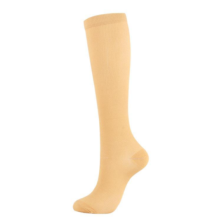 Men Women Anti-Fatigue Knee High Graduated Compression Elastic Stockings Leg Support Socks