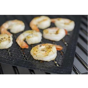 Best Mesh Grill Mat Fish and Vegetable Mat Non-Stick BBQ Baking