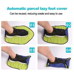 Waterproof Automatic Shoe Covers Reusable Construction Booties