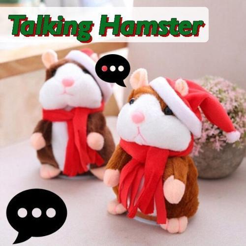 Talking hamster - repeat anything it hears