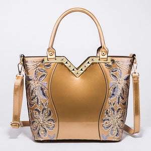 Patent Leather Shoulder Bag Royal Bag