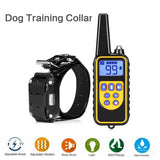 Rechargeable LCD Display Dog Bark Control Training Collar