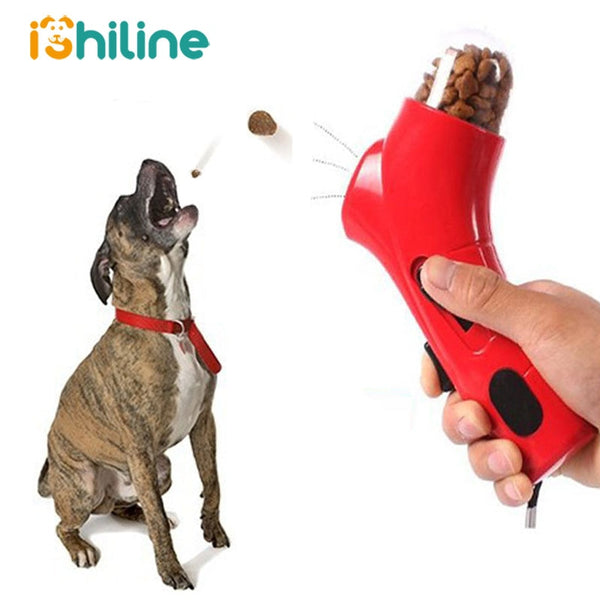 Dogs Travel Puppy Cat Food Feeding Launcher