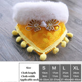 Pet Dogs Saliva Towel Scarf Collar Accessories
