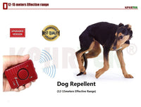 Ultrasonic Dog Repellent Sonic Deterrent Pet Chaser