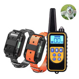Waterproof LCD Display Dog Bark Control Training Collar