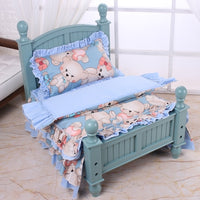 Cotton Pet Dog Bedding Multicolor Pattern Without Wooden Bed