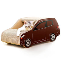 Car Shaped Corrugated Paper Cat Scratch Board