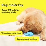 Dog Rubber Ball Cleaning Toothbrush Stick