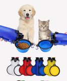 Cat Travel Drinking Water Bottle  Bowl Cup Set
