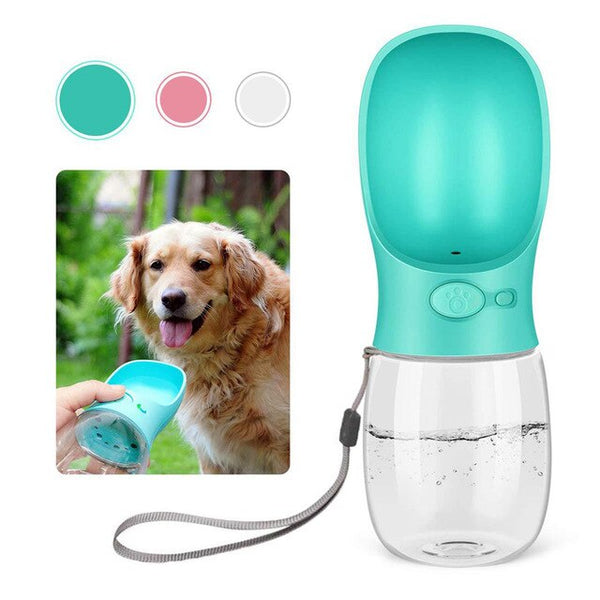 Portable Pet Dog Outdoor Travel Water Bottle