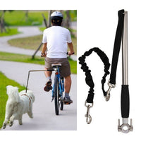 Dog Bike Leash Hand Free Dog Bicycle Leash