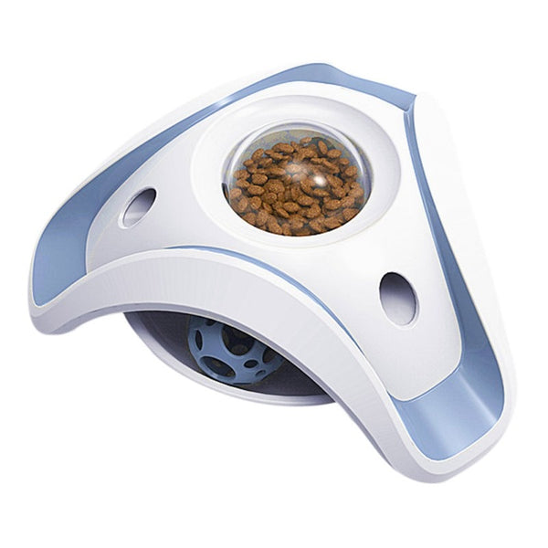 Pet Bowl Feeder Cat Feeding Toys