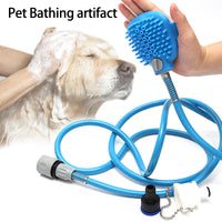 Dog Cat Adjustable Multifunctional Massage Shower Bath Brush