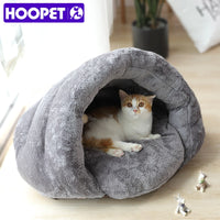 Cat Sleeping Bag Kitty House Warm Pet Bed