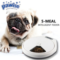 Automatic Pet Dry Food Dispenser Dish Timing Feeder