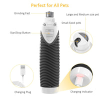 Pet Electric Trimmer Dog Nail Grinder Pet Nail Care Tool