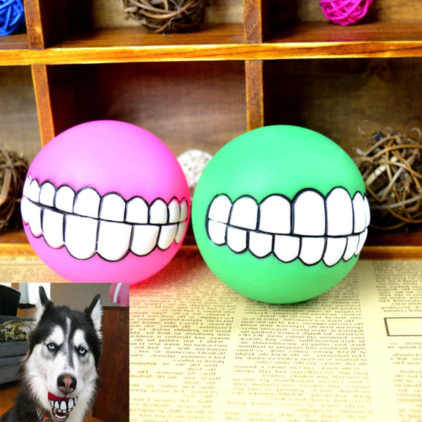 Silicon Pet Dog Teeth Toy Chew Ball