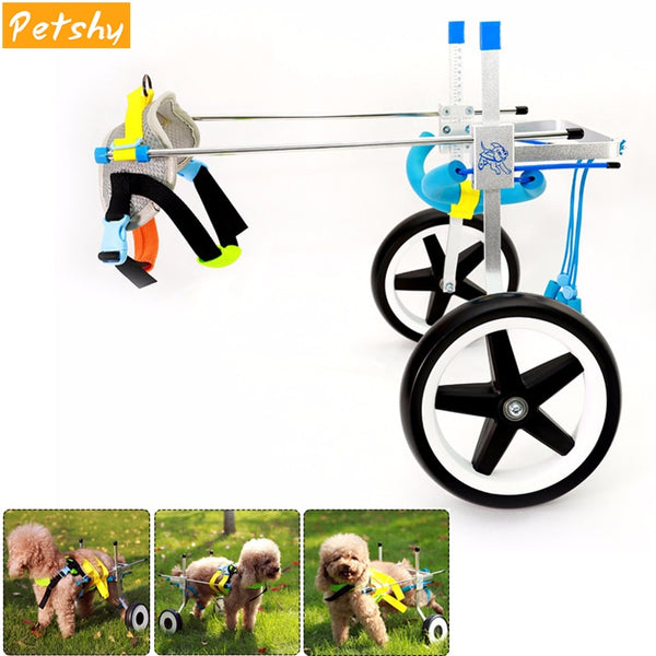 Pet Dog Rehabilitation Training Wheelchair