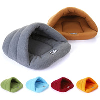 Cats Sleeping Bag Nest Soft Polar Cave Bed