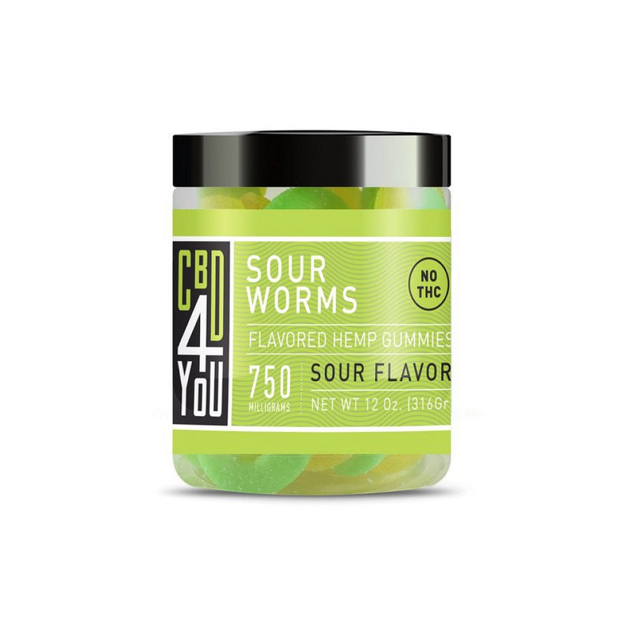 CBD4YOU - GOMITAS DE HEMP GUSANO AGRIO