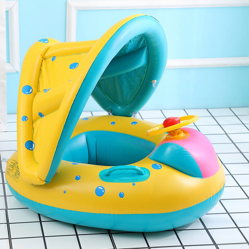 Safe Inflatable Baby Swimming Ring
