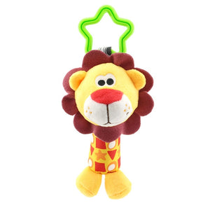 Hanging Plush Baby Toy Rattle Animal Bell