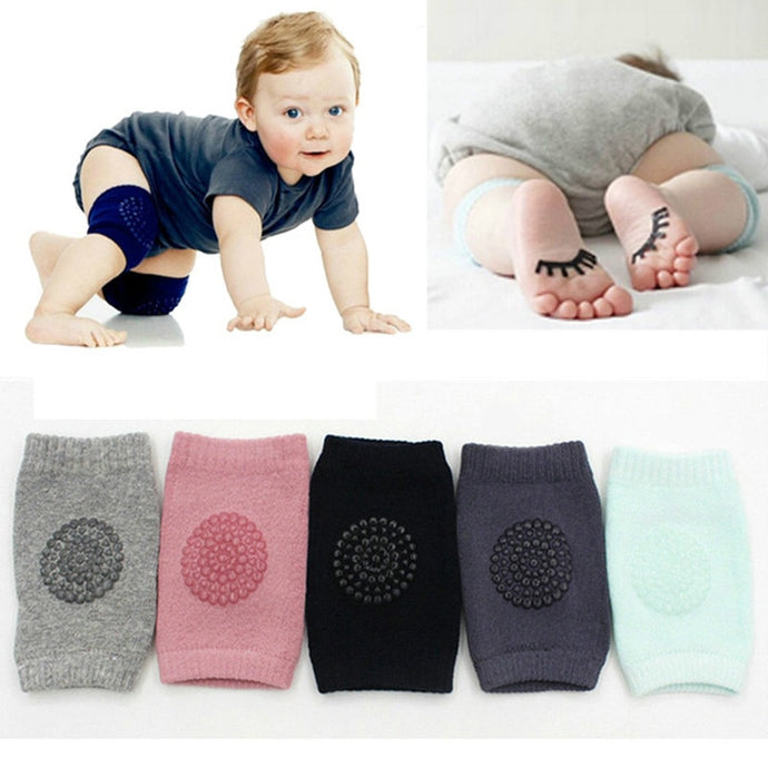one pair New Joy Baby Kids Safety Crawling Elbow/Knee Cushions