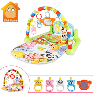 Baby Gym Tapis Puzzles Mat Educational Rack Toy