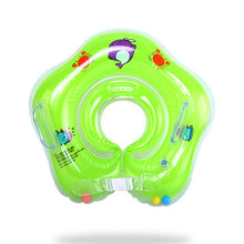 Load image into Gallery viewer, Swimming Baby Pools Accessories Baby Inflatable Ring Baby Neck Inflatable Wheels for Newborns Bathing Circle Safety Neck Float