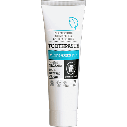 Organic Mint & Green Tea Toothpaste (Coming Soon) - Earth Mart