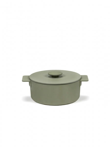 Sergio Herman Pot Enamel Cast Iron - 2L / Camogreen (Coming Soon) - Earth Mart