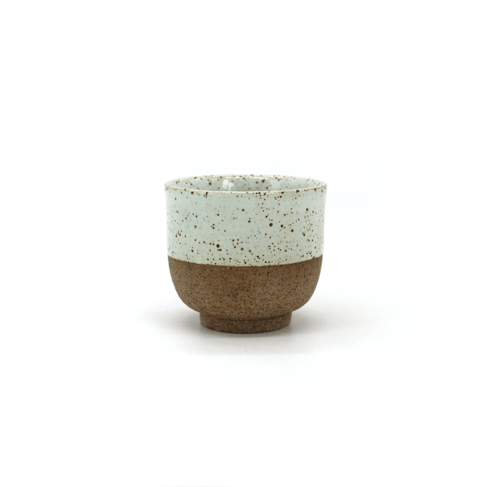 Local Artisanal Ceramic - Tea Cup (White)