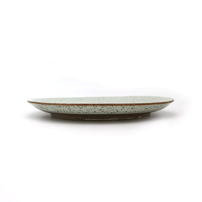 Local Artisanal Ceramic - White Plate 8""