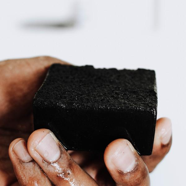 Charcoal Grit Bar - Facial + Body Wash - Earth Mart