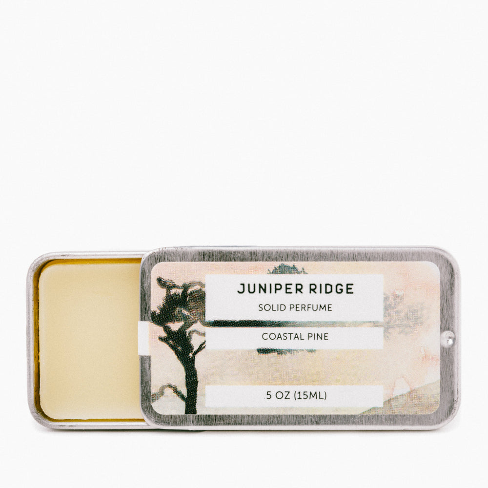 Juniper Ridge - COASTAL PINE Solid Perfume - Earth Mart