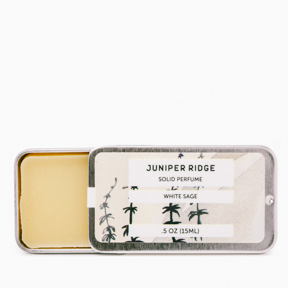 Juniper Ridge - WHITE SAGE Solid Perfume - Earth Mart
