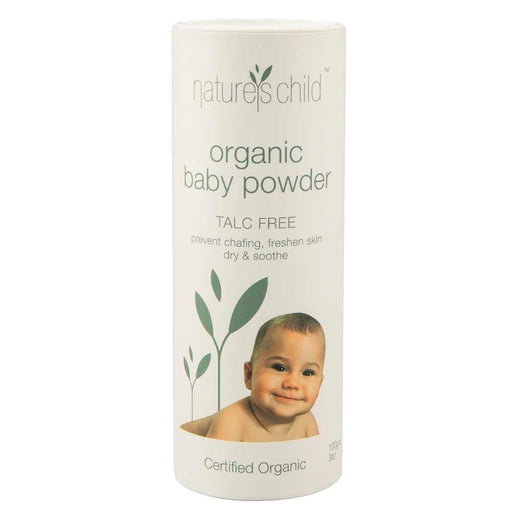 NATURE'S CHILD Organic Baby Powder - Earth Mart