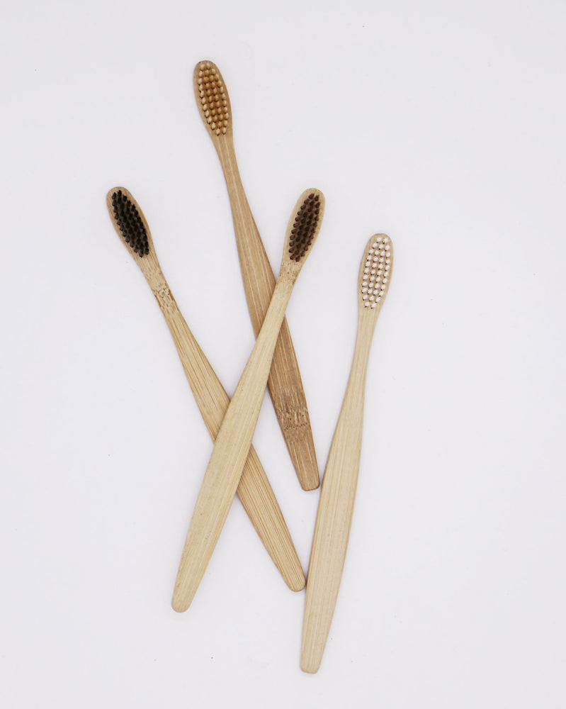 Bamboo Fibre Toothbrush - Earth Mart