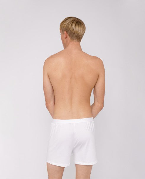 TENCEL™ Lite Boxer Shorts - White - Earth Mart