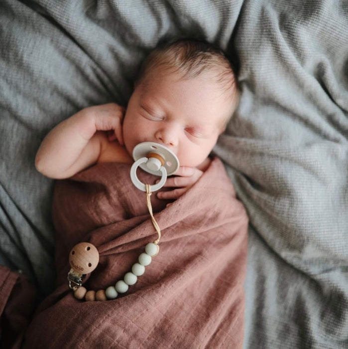 (Coming Soon) Muslin Swaddle Blanket Organic Cotton - Pale Taupe