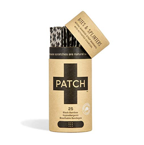 PATCH Adhesive Strips - Activated Charcoal - Earth Mart