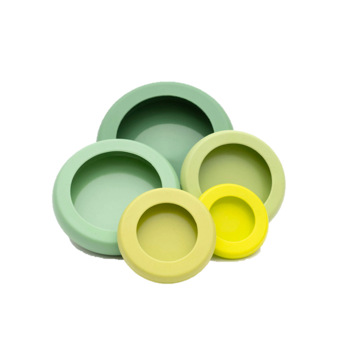 FOOD HUGGERS - Sage Green (Set of 5) - Earth Mart