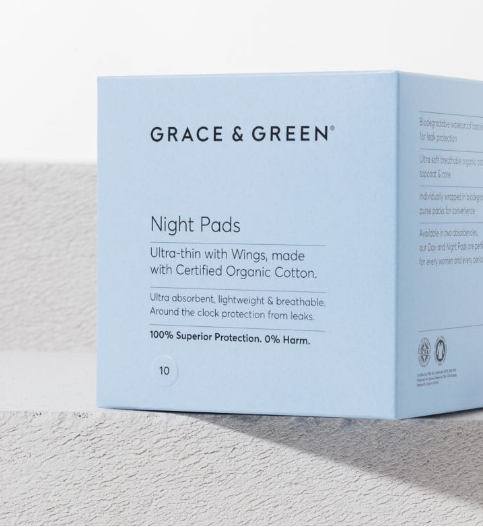Organic Cotton Pads - Night (Coming Soon) - Earth Mart