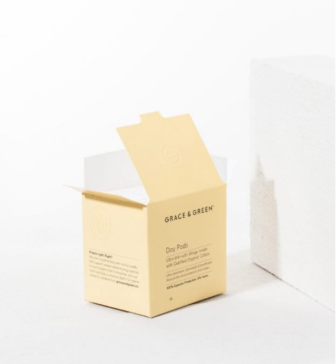 Organic Cotton Pads - Day (Coming Soon) - Earth Mart