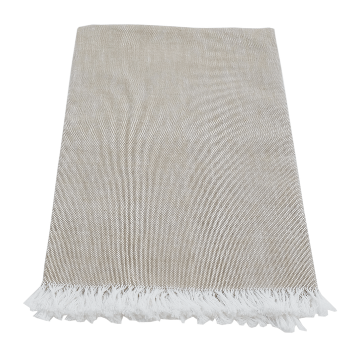 Loom Woven Napkin - Solid Wheat - Earth Mart