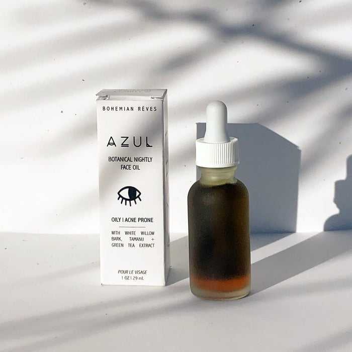 Azul Botanical Face Serum - Oily to Acne Prone - Earth Mart